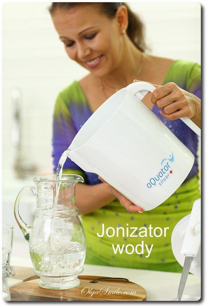 Inne rodzaje Jonizator wody aQuator Silver + przepis Olga Smile ZB09