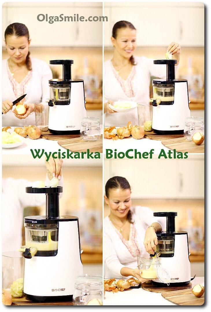 Wyciskarka soku BioChef Atlas Slow Juicer