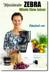 Wyciskarka ZEBRA Whole Slow Juicer