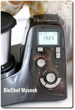 Panel sterowania w BioChef Mycook