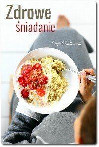 Zdrowe śniadanie z kaszą jaglaną