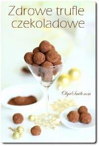 Zdrowe trufle czekoladowe