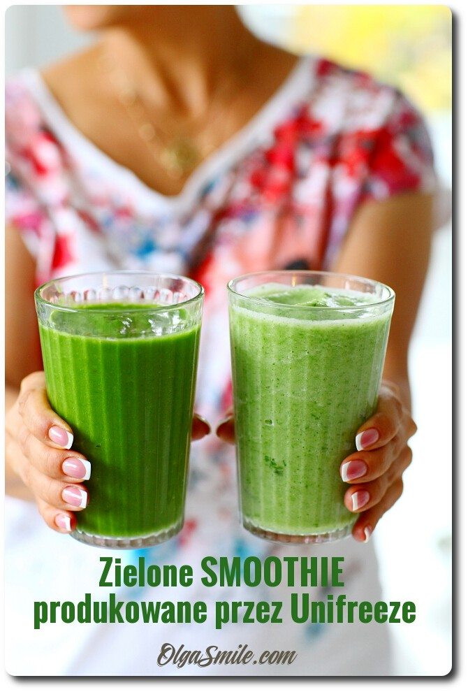 Zielone smoothie Unifreeze