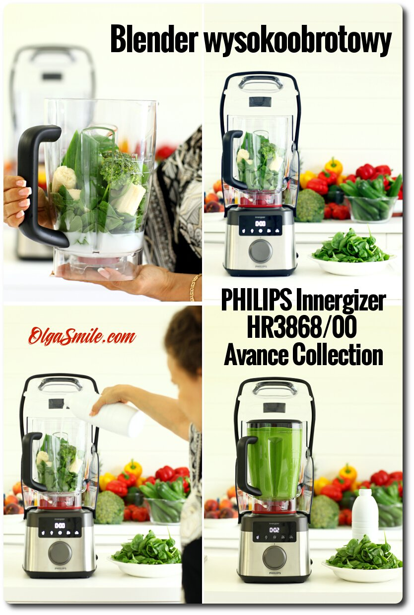 Blender wysokoobrotowy PHILIPS Innergizer HR3868/00 Avance Collection