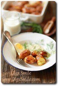 Ziemniaki pieczone z rozmarynem i czosnkiem