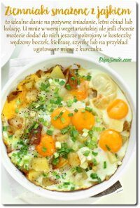 Ziemniaki smażone z jajkiem