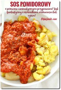 Ziemniaki w sosie pomidorowym