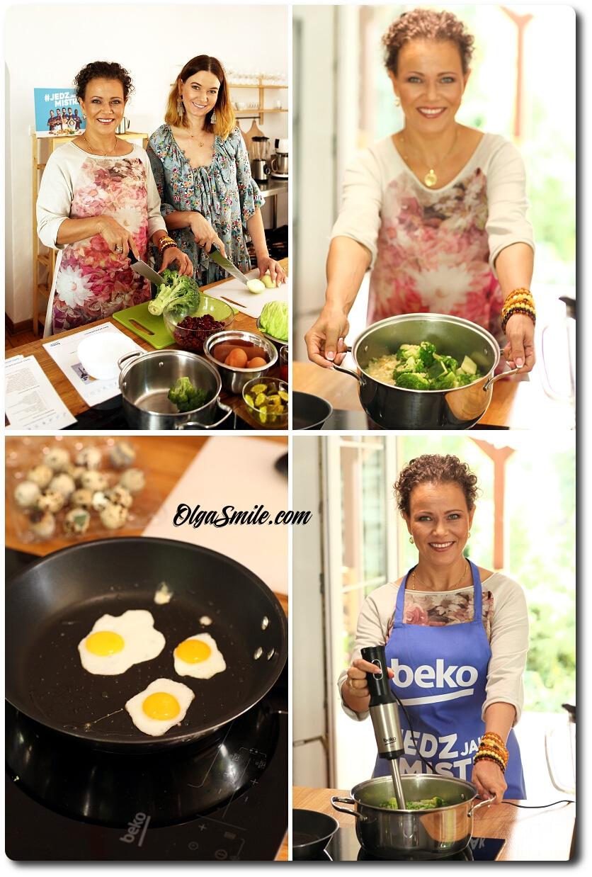 Jedz jak mistrz z BEKO Olga Smile i Karolina Malinowska