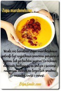 Zupa marchewkowa