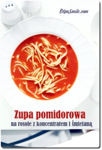 Zupa pomidorowa na rosole