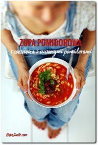 Zupa pomidorowa z soczewicą