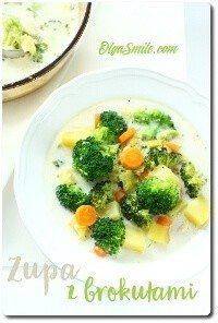 Zupa z brokułami