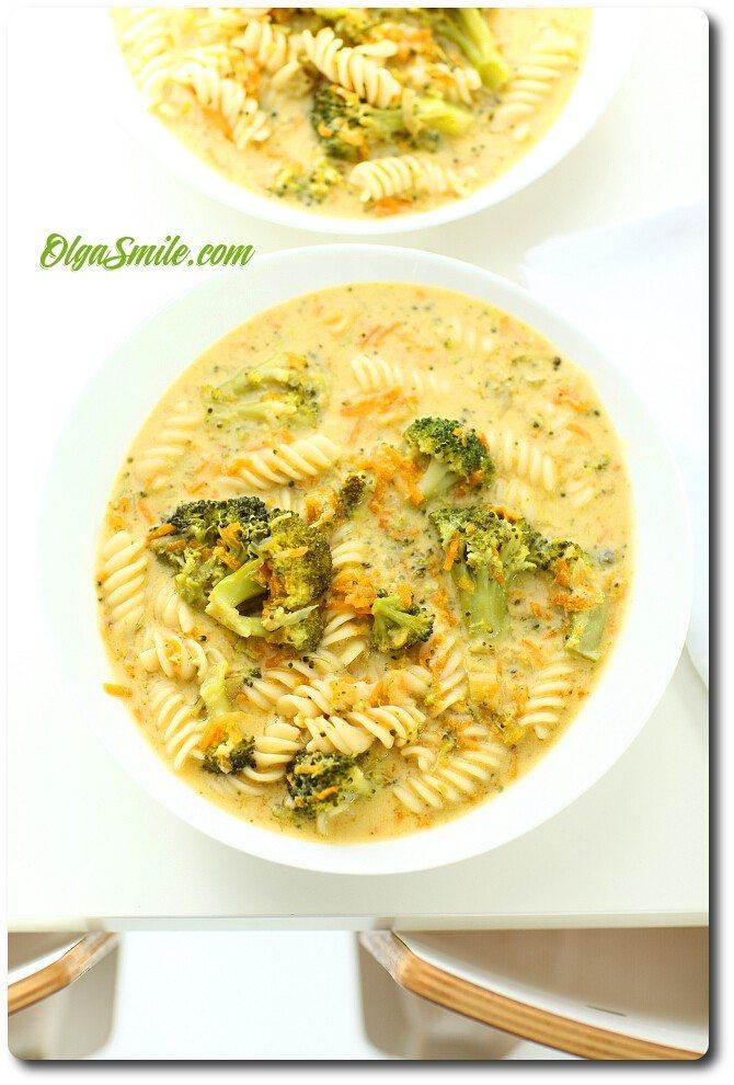 Zupa z brokułów
