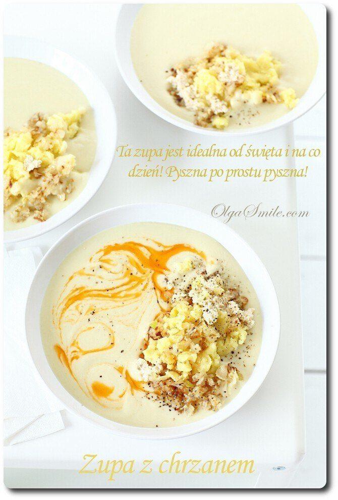 Zupa z chrzanem