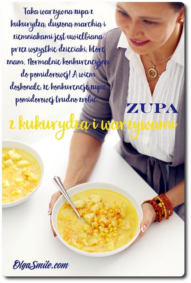 Zupa z kukurydzą