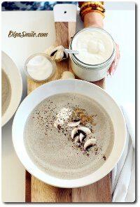 Zupa z pieczarek
