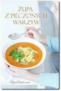 Zupa z pieczonych warzyw